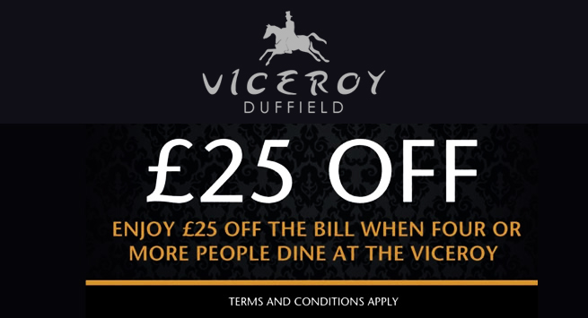 £25 Free Meal Voucher